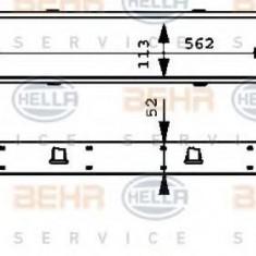 Intercooler, compresor MERCEDES-BENZ E-CLASS limuzina E 290 Turbo-D - HELLA 8ML 376 723-131 - Intercooler turbo