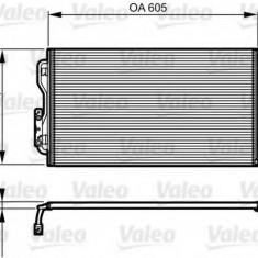 Condensator, climatizare BMW 1 116 i - VALEO 814189 - Radiator aer conditionat