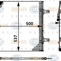 Condensator, climatizare MERCEDES-BENZ VARIO caroserie inchisa/combi 813 DA, 814 DA 4x4 - HELLA 8FC 351 317-591 - Radiator aer conditionat