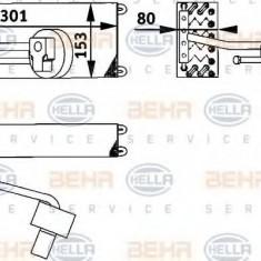Evaporator, aer conditionat RENAULT CLIO  1.9 D - HELLA 8FV 351 211-601