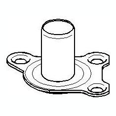 Rulment priza directa, ambreiaj AUDI A2 1.2 TDI - TOPRAN 101 774 - Ghidaj rulment presiune