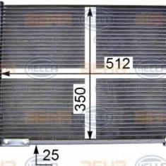 Condensator, climatizare FORD FIESTA Mk IV 1.3 i - HELLA 8FC 351 036-411 - Radiator aer conditionat