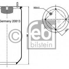 Burduf, suspensie pneumatica - FEBI BILSTEIN 20813