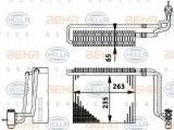 Evaporator,aer conditionat MERCEDES-BENZ VIANO 3,0 - HELLA 8FV 351 211-741