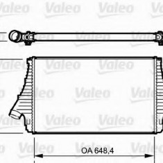 Intercooler, compresor OPEL SIGNUM 1.9 CDTI - VALEO 818722 - Intercooler turbo