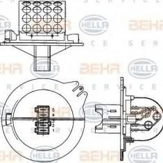 Rezistor, ventilator habitaclu CITROËN XSARA 1.8 i - HELLA 9ML 351 303-271 - Motor Ventilator Incalzire