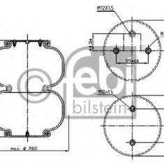 Burduf, suspensie pneumatica - FEBI BILSTEIN 39420