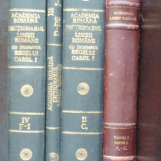 DICTIONARUL LIMBII ROMANE 4 VOLUME - DEX