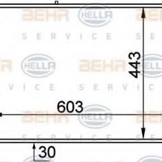 Intercooler, compresor ALFA ROMEO SPIDER 2.0 JTDM - HELLA 8ML 376 765-061 - Intercooler turbo