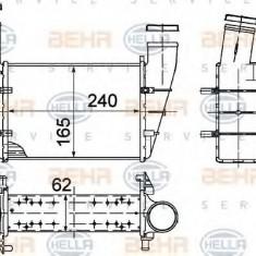 Intercooler, compresor VW PASSAT Variant 1.9 TDI - HELLA 8ML 376 727-581 - Intercooler turbo