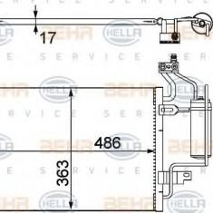 Condensator, climatizare OPEL MERIVA 1.8 - HELLA 8FC 351 302-481 - Radiator aer conditionat
