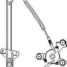 Mecanism actionare geam AUDI A6 limuzina 1.9 TDI - TOPRAN 110 449 - Macara geam
