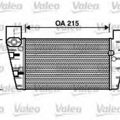 Intercooler, compresor AUDI A4 1.8 T - VALEO 817867 - Intercooler turbo