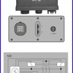 Releu, instalatia de comanda bujii incandescente RENAULT 19  1.9 D - HÜCO 132075 - Relee