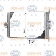 Schimbator caldura, incalzire habitaclu MERCEDES-BENZ S-CLASS limuzina 300 SE 2.8 - HELLA 8FH 351 311-641 - Sistem Incalzire Auto