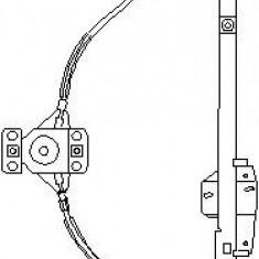 Mecanism actionare geam VW PASSAT 1.6 - TOPRAN 103 594 - Macara geam