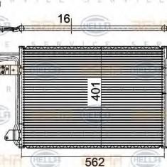 Condensator, climatizare VW GOLF VI 1.6 MultiFuel - HELLA 8FC 351 301-041 - Radiator aer conditionat