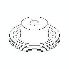 Rulment sarcina suport arc SEAT IBIZA V 1.2 - TOPRAN 110 714 - Rulment amortizor