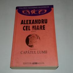 VALERIO MASSIMO MANFREDI - ALEXANDRU CEL MARE        Vol.3.