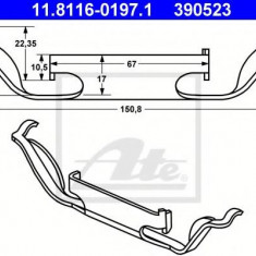 Arc, etrier frana BMW 5 limuzina 520 i - ATE 11.8116-0197.1 - Arc - Piston - Garnitura Etrier
