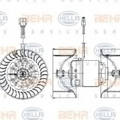 Ventilator, habitaclu BMW 3 limuzina 318 i - HELLA 8EW 009 158-051 - Motor Ventilator Incalzire