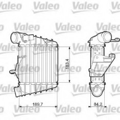 Intercooler, compresor SKODA PRAKTIK 1.9 TDI - VALEO 817556 - Intercooler turbo