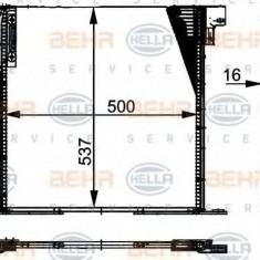 Condensator, climatizare MERCEDES-BENZ VITO bus 108 D 2.3 - HELLA 8FC 351 037-341 - Radiator aer conditionat