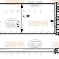 Intercooler, compresor RENAULT LAGUNA I I 1.9 dTi - HELLA 8ML 376 723-101 - Intercooler turbo