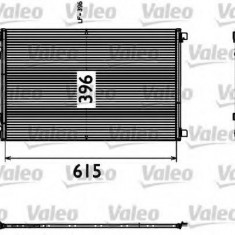 Condensator, climatizare RENAULT MEGANE II 1.4 16V - VALEO 817608 - Radiator aer conditionat