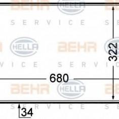Intercooler, compresor PEUGEOT 806 2.0 Turbo - BEHR HELLA SERVICE 8ML 376 727-641 - Intercooler turbo