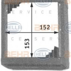 Schimbator caldura, incalzire habitaclu NISSAN NOMAD bus 2.4 i - BEHR HELLA SERVICE 8FH 351 311-381 - Sistem Incalzire Auto