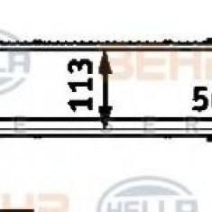 Intercooler, compresor MERCEDES-BENZ E-CLASS limuzina E 220 CDI - HELLA 8ML 376 723-141 - Intercooler turbo
