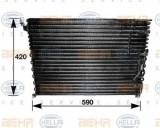 Condensator, climatizare VOLVO 740 limuzina 2.3 - HELLA 8FC 351 035-121