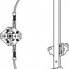 Mecanism actionare geam OPEL MONZA E 1.2 - TOPRAN 200 036 - Macara geam