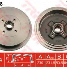 Tambur frana VW PASSAT 2.0 - TRW DB4188 - Saboti frana auto