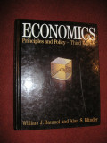 Economics - Principles and Policy - William J.Baumol , Alan S.Blinder
