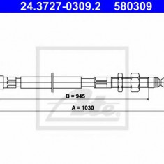 Cablu, frana de parcare CITROËN XM 2.1 TD 12V - ATE 24.3727-0309.2