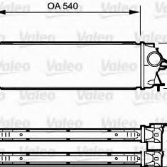 Intercooler, compresor RENAULT TRAFIC II bus 2.0 dCi 90 - VALEO 818771 - Intercooler turbo