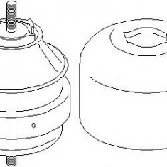 Suport motor AUDI A4 limuzina 1.8 - TOPRAN 104 424 - Suporti moto auto