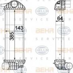 Intercooler, compresor RENAULT KANGOO Express 1.5 dCi 75 - HELLA 8ML 376 755-541 - Intercooler turbo
