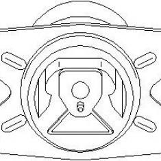 Suport motor OPEL ASTRA G hatchback 1.6 16V - TOPRAN 205 858 - Suporti moto auto