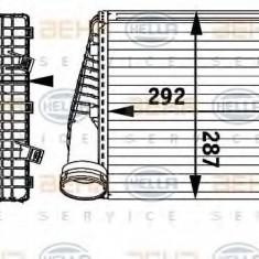 Intercooler, compresor PORSCHE CAYENNE 3.0 Diesel - HELLA 8ML 376 729-561 - Intercooler turbo