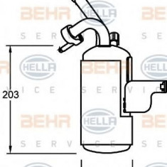 Uscator, aer conditionat FORD TRANSIT CONNECT 1.8 TDCi /TDDi /DI - HELLA 8FT 351 335-051