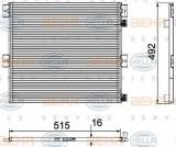 Condensator, climatizare RENAULT TRUCKS Midlum 160.08 - HELLA 8FC 351 029-351