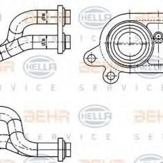 Racord, schimbator de caldura BMW 3 Compact 316 i - HELLA 8MY 376 744-611 - Sistem Incalzire Auto