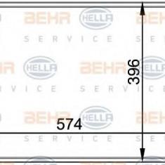 Condensator, climatizare RENAULT MEGANE I 1.4 e - HELLA 8FC 351 037-751 - Radiator aer conditionat