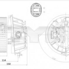 Ventilator, habitaclu CITROËN C3 I 1.6 16V - TYC 505-0001