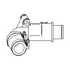 Furtun ear supraalimentare RENAULT CLIO Mk II 1.5 dCi - TOPRAN 700 684 - Furtunuri siliconice turbo