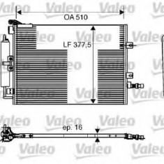 Condensator, climatizare RENAULT MODUS / GRAND MODUS 1.4 - VALEO 818165 - Radiator aer conditionat