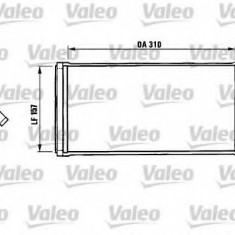 Schimbator caldura, incalzire habitaclu IVECO DAILY II platou / sasiu 30-8 - VALEO 812137 - Sistem Incalzire Auto
